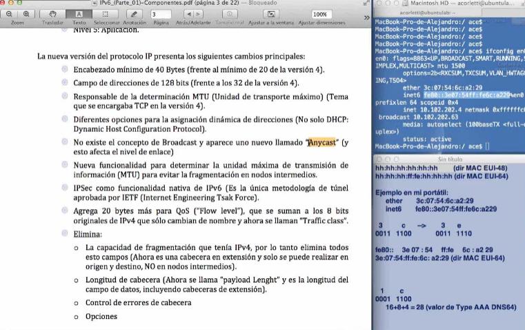 IP versión 6 (Parte 01). Sus componentes. Por Alejandro Corletti.