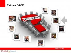 Sales and Operations planning, con Oracle Demantra