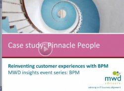 Pinnacle People. Reinventando las experiencias del cliente con BPM