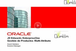 Introducción a Oracle JD Edwards EnterpriseOne Gestión de Productos Multi-Atributo