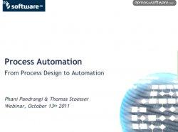 Automatización de Procesos: Desde el diseño hasta la automatización