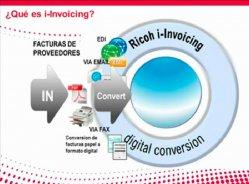 i-Invoicing de Ricoh para la gestión inteligente de facturas