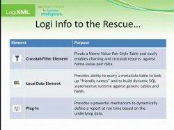 Logi Info Workshop: Spotlight on Handling Flexible Schemas
