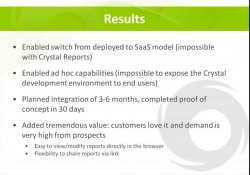 Getting Beyond Crystal Reports