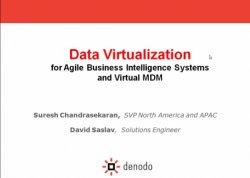 Virtualización de Datos y MDM con Denodo para agilizar aplicativos BI