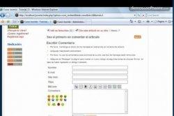 Tutorial Joomla! 15: Instalación de algunos módulos, instalación de componentes