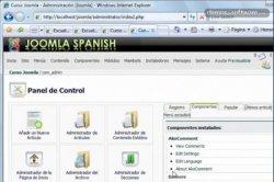 Tutorial Joomla! 16: Ako Comment II e inicio del manejo de usuarios