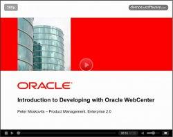 Introducción al desarrollo de aplicaciones Rich Media y portales con Oracle WebCenter