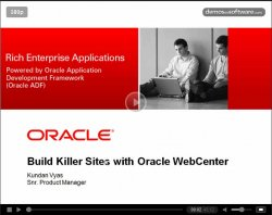 Cómo hacer un site desde cero con Oracle WebCenter Portal. Por la Oracle Technology Network.