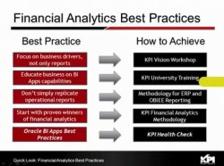 Oracle Financial Analytics en McDonalds. Por kpipartners.com