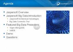 Introducción al Reporting para Big Data de Jaspersoft.