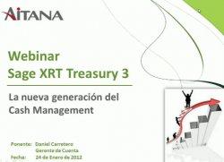 Introducción a la herramienta de Tesorería Sage XRT Treasury 3. Por Aitana.