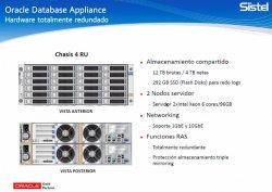 Ahorre de costes en licencias y mantenimiento en Bases de Datos Oracle con Oracle Database Appliance. Webinar por Sistel.
