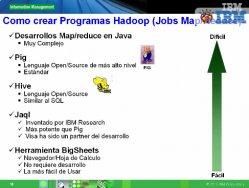 Introducción al Big Data y soluciones que propone IBM para gestionarlo: InfoSphere BigInsights e Infosphere Streams