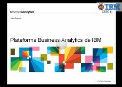 Introducción a la plataforma de Business Analytics de IBM
