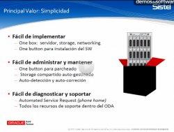 Características y funcionalidades de Oracle Database Appliance, un sistema de bases de datos simplificado dirigido a la pyme