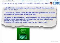 Prevención del fraude con IBM Business Analytics