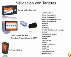Imprima de forma segura en SafeQ con el uso de SmartCards. Presentación de Comunycarse
