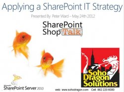 Applying an IT Strategy to SharePoint: Panelist Spotlight with Peter Ward