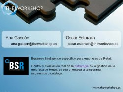 Control total de stocks con BSR. de theworkshop.es