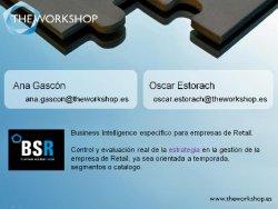Control total de stocks con BSR. de theworkshop.es