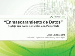 Enmascaramiento de datos con el software de PowerData.
