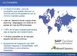 Tecnología avanzada para Proyectos de Sales & Operations Planning, por ToolsGroup.