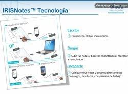 IRISNotes Executive 2: presentación y demostración del funcionamiento del bolígrafo digital inteligente de I.R.I.S.