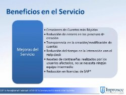 Presentación de la versión 10 de SAP GRC (Governance, Risk management and Compliance) de Access Controls, por Inprosec