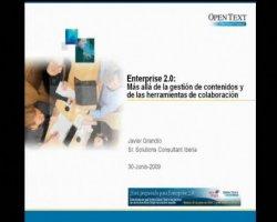 OpenText España explica su visión de la Gestión de Contenidos en el entorno Enterprise 2.0
