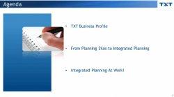 Más allá de la planificación por silos: el Integrated Planning como factor de rentabilidad, por TXT e-solutions