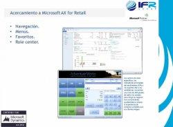 Microsoft AX para Retail. Por IFR.