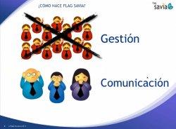 Características y funcionalidades de la solución de gestión integral centrada en proyectos Flag Savia