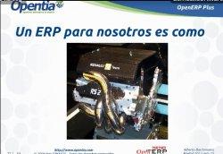 OpenERP como alternativa a SAP en grandes implantaciones por Opentia.