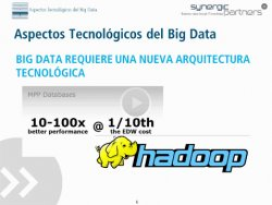 Big Data, Big Opportunities, por Synergic Partners.