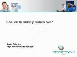 SAP Day. 8 horas de análisis de diferentes productos y servicios por parte de expertos