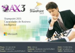 Sharepoint 2013: Capacidades de Business Intelligence, por ax3.es