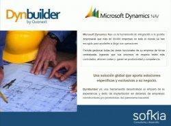 Dynbuilder, el vertical de Microsoft NAV para el sector de la construcción.