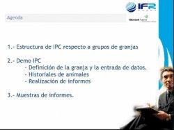 IFR-Pig Control, solución desarrollada en Microsoft.NET para la gestión de granjas, del vertical Microsoft Dynamics AX 2012 IFR Meat.