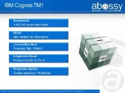 Nuevo IBM Cognos TM1. Gestión del Rendimiento Corporativo. Nueva Analítica de Negocio. Por Abassy.