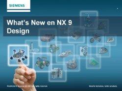 Novedades de NX9, la nueva versión del software CAD de Siemens PLM Software