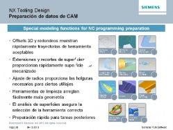 Siemens NX9 en Fabricación: novedades.