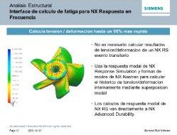 Siemens NX9 CAE y LMS, una colaboración para la simulación.