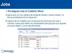 Best Practices y Reducción de Riesgos en Migraciones a IBM Cognos 10