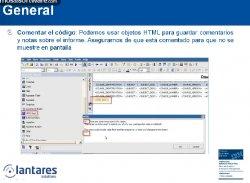 Best Practices en la creación de informes con IBM Cognos Report Studio. Por Lantares.