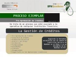 Proceso ejemplar: Pre Aprobación de un Crédito Bancario.