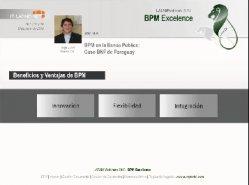 Caso: el BPM en una entidad financiera: BNF de Paraguay.