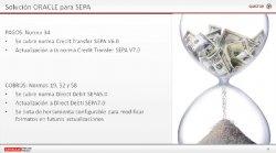 Adaptación con JD Edwards a la normativa SEPA y al Pago del IVA al Cobro, por Quistor.