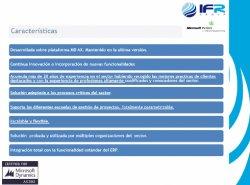 Gestión Avanzada de Proyectos con Dynamics AX para constructoras, ingenierías e instaladoras, por IFR Group.