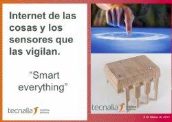 El internet de las Cosas: los sensores que las vigilan